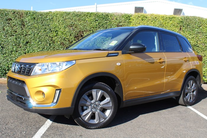 2019 Suzuki Vitara LY Series II SOLAR YELLOW