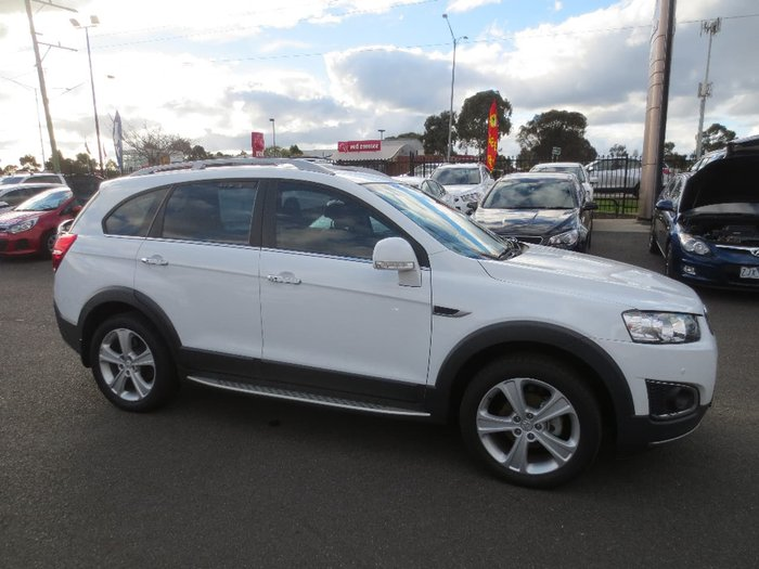 2015 HOLDEN CAPTIVA 7 LTZ CG White