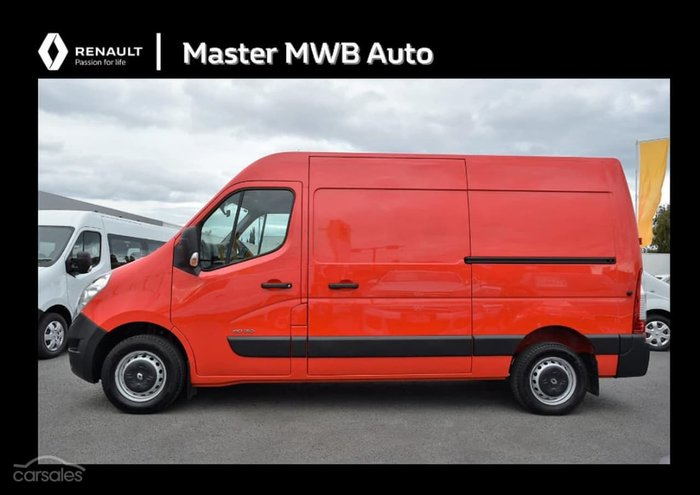 2017 RENAULT MASTER X62 Red