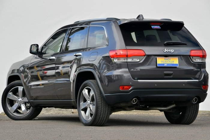 2015 JEEP GRAND CHEROKEE LIMITED WK MY15 GREY