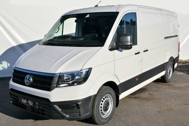 2018 VOLKSWAGEN CRAFTER 35 TDI410 MWB SY1 MY18 CANDY WHITE