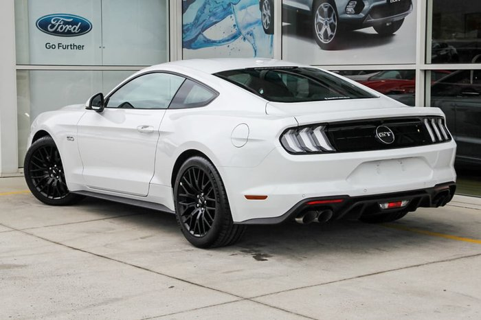 2018 FORD MUSTANG GT FN White