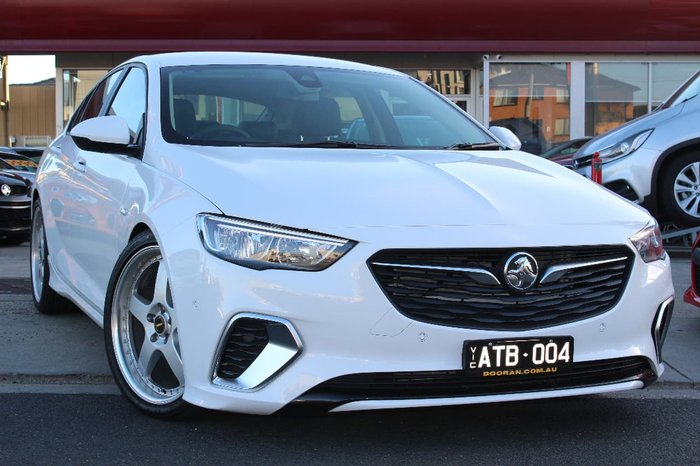 2018 HOLDEN COMMODORE RS ZB White