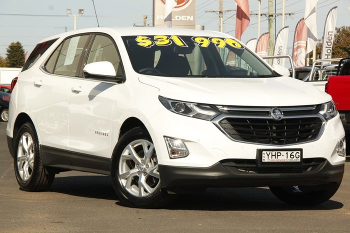 2017 HOLDEN EQUINOX LT EQ White