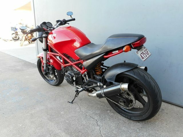 2008 DUCATI MONSTER 695ie Red