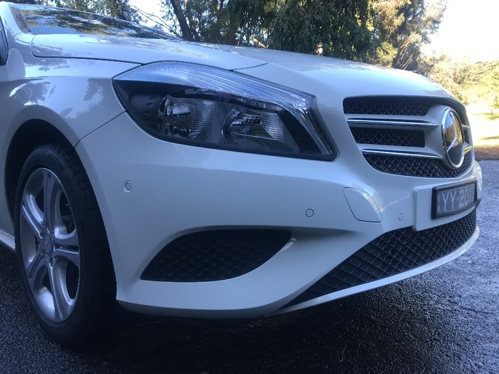 2014 MERCEDES-BENZ A180 W176 White