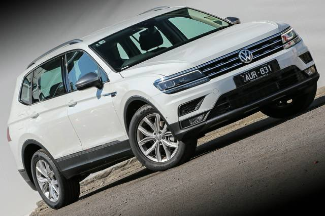 2018 VOLKSWAGEN TIGUAN 110TSI COMFORTLINE A 5N MY18 PURE WHITE