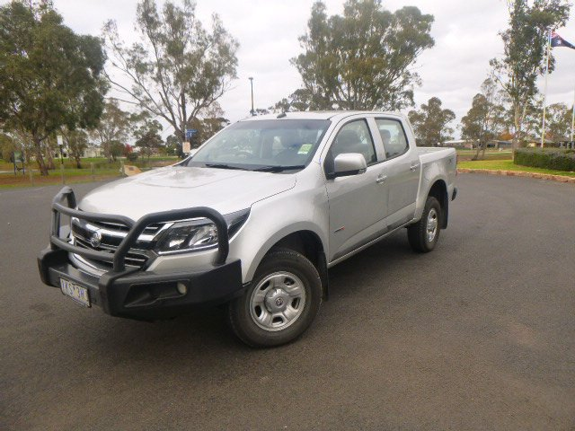 2017 HOLDEN COLORADO LS Crew Cab Pickup 4x4 RG MY17 Nitrate