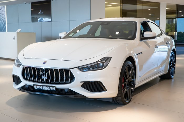 2018 Maserati Ghibli GranSport M157 MY18