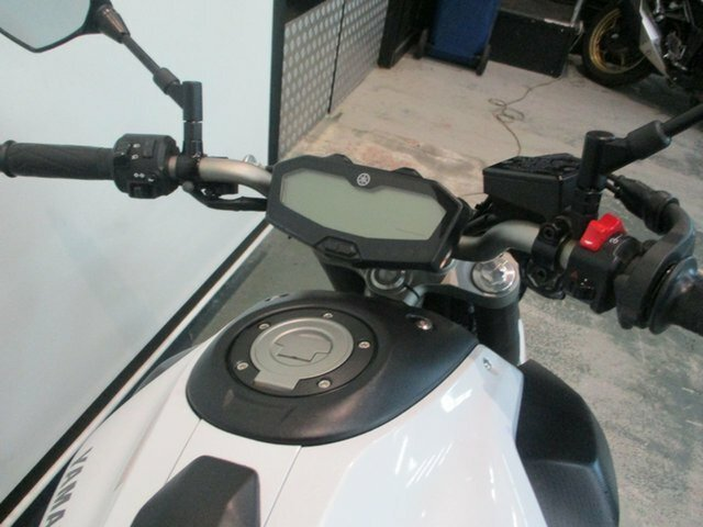 2015 YAMAHA MT-07 White