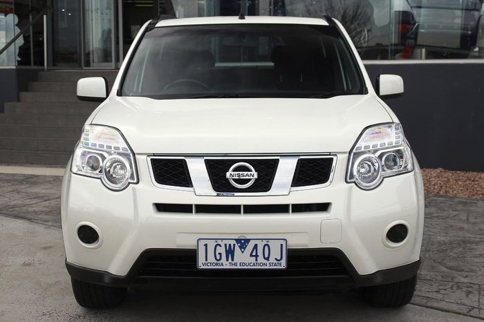 2012 NISSAN X-TRAIL ST T31 White