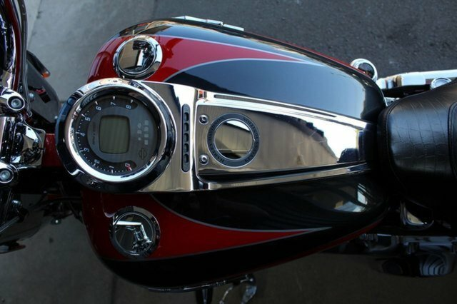 2011 Harley-davidson CVO SOFTAIL CONVERTIBLE Red/Black