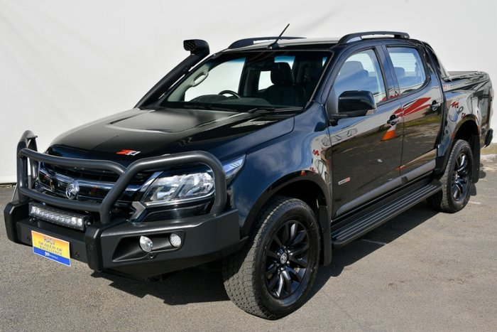 2017 HOLDEN COLORADO Z71 DUAL CAB RG MY18 MINERAL BLACK