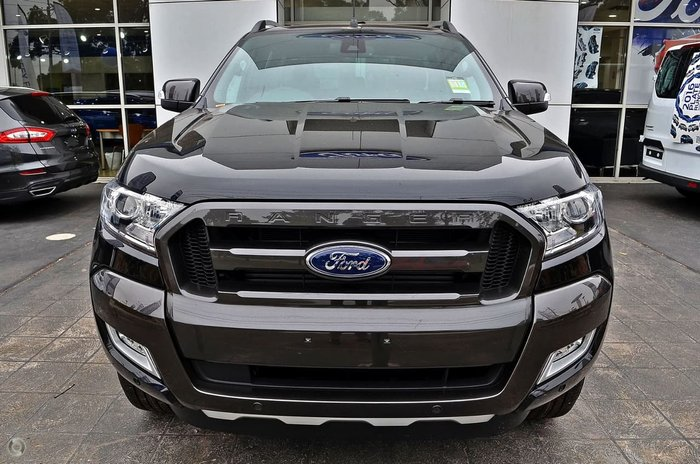 2018 FORD RANGER Wildtrak PX MkII Black