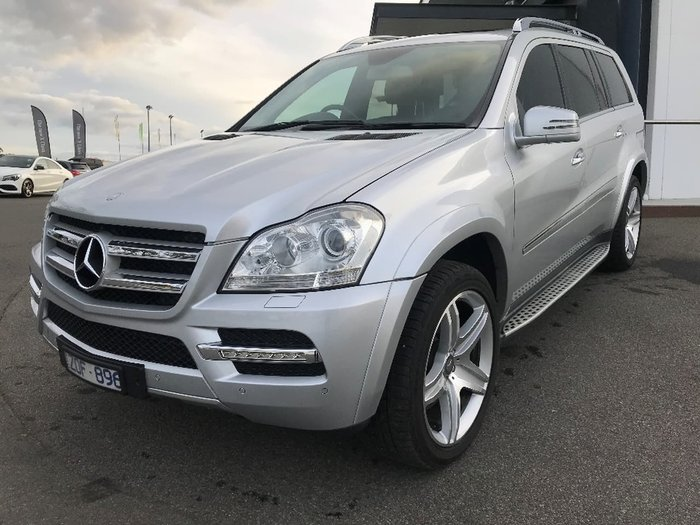 2012 MERCEDES-BENZ GL450 CDI Luxury X164 Silver