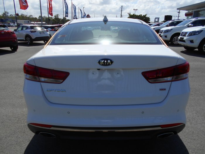2016 Kia Optima Si JF MY16 WHITE