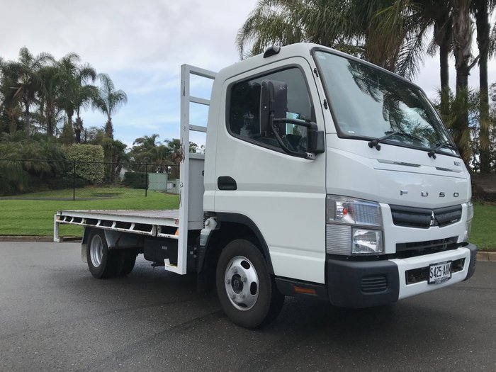 2013 Mitsubishi Canter 515 Wide White