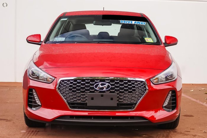 2018 HYUNDAI I30 Trophy PD2 Red