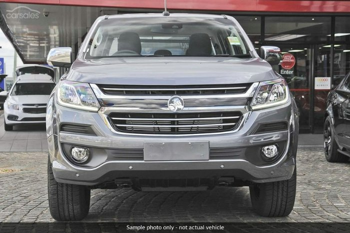 2018 HOLDEN COLORADO LTZ DUAL CAB RG MY19 DARK SHADOW