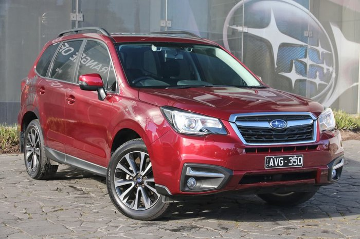 2018 SUBARU FORESTER 2.5i-S S4 Red