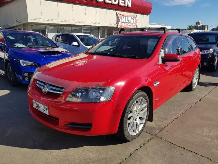 2010 HOLDEN COMMODORE International VE Red