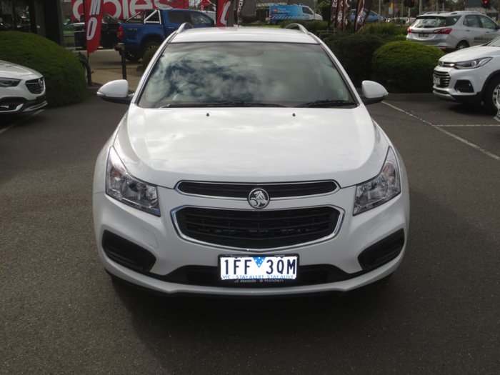 2015 HOLDEN CRUZE CD JH Series II White