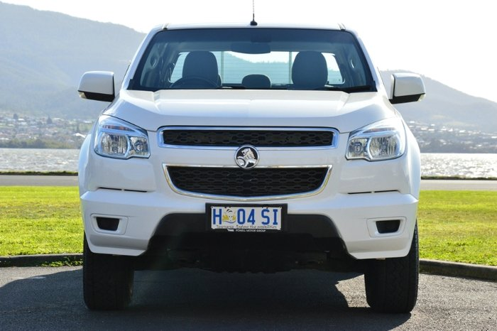 2015 HOLDEN COLORADO LS DUAL CAB RG MY15 WHITE