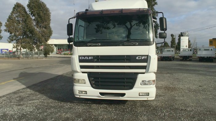 2006 DAF CF 85 Series WHITE