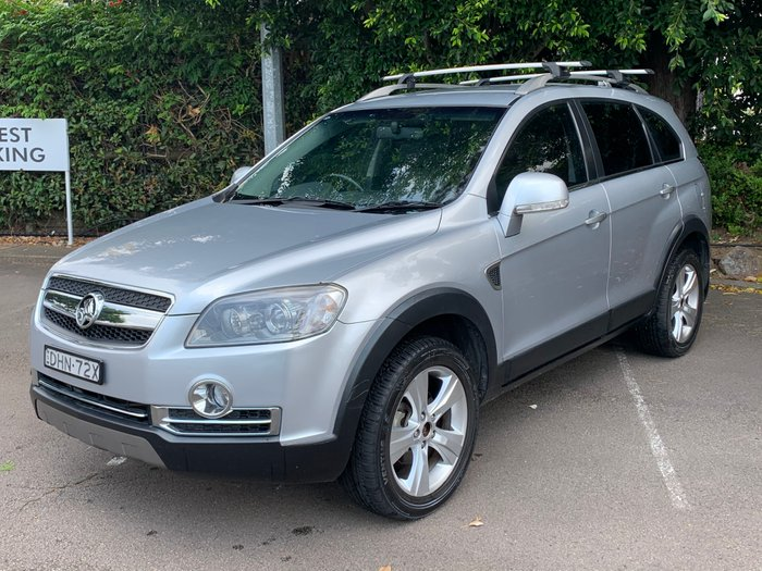 2008 Holden Captiva LX 60th Anniversary CG MY08 4X4 On Demand silver