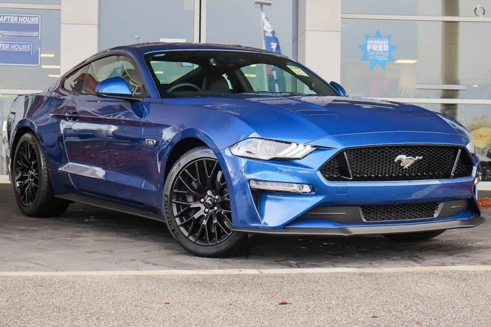 2018 FORD MUSTANG GT FN Blue