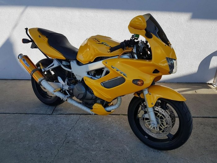 1998 Honda VTR1000F (FIRESTORM) Yellow
