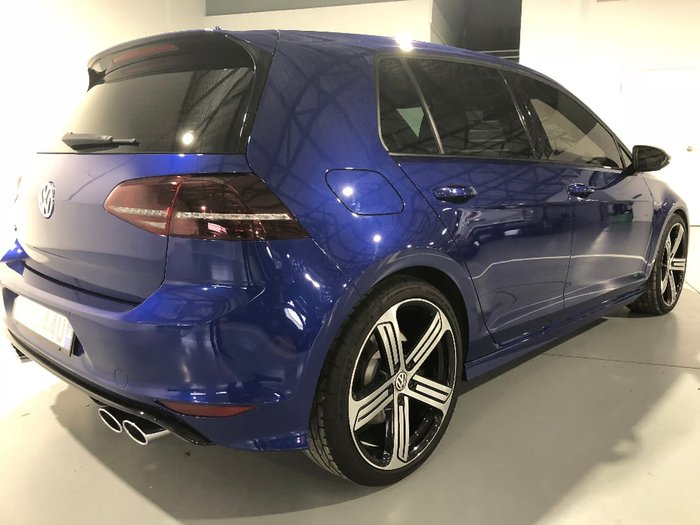 2013 VOLKSWAGEN GOLF R 7 Blue