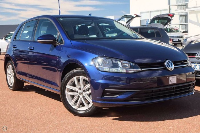 2018 VOLKSWAGEN GOLF 110TSI 7.5 Blue