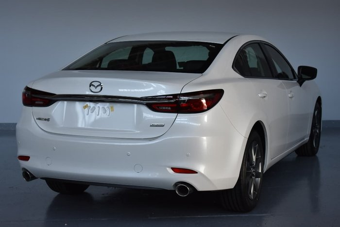 2018 MAZDA 6 GT GL Series White
