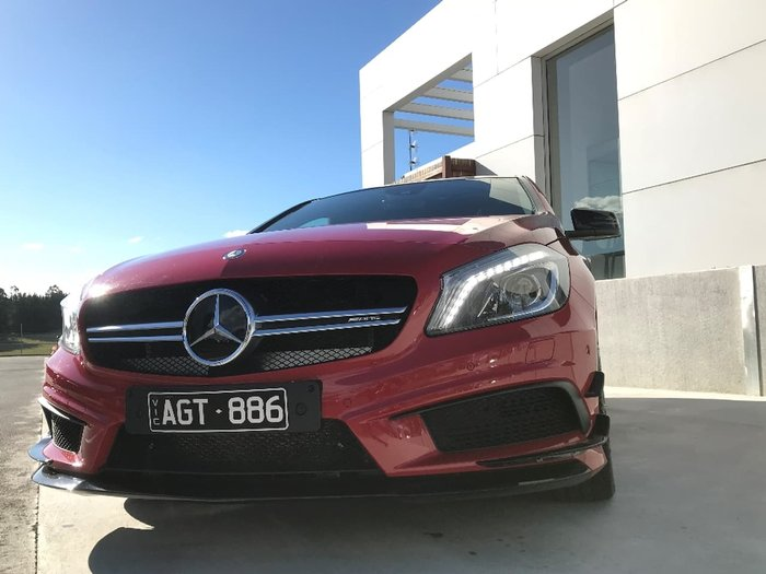 2015 MERCEDES-BENZ A45 AMG W176 Red