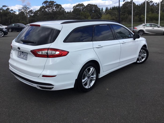 2017 FORD MONDEO Ambiente MD White