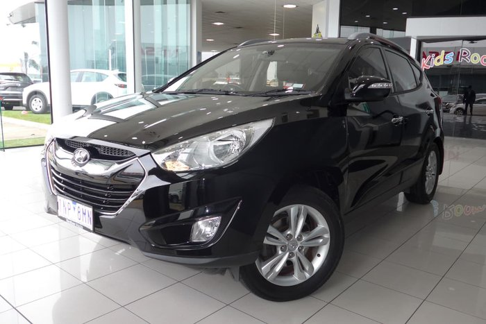 2011 HYUNDAI IX35 Elite LM Black