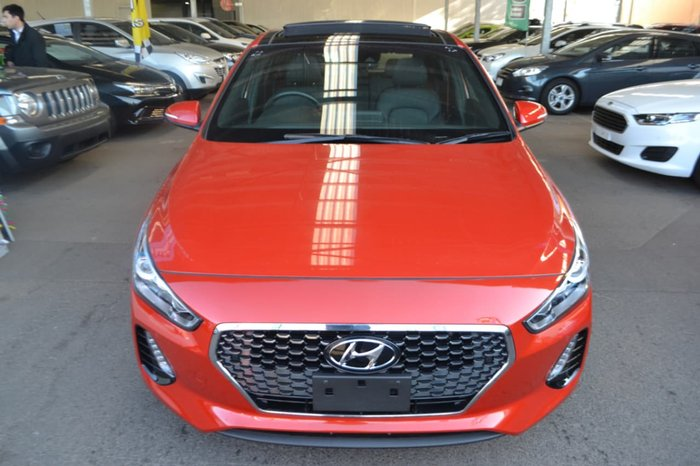 2017 HYUNDAI I30 SR Premium PD Orange