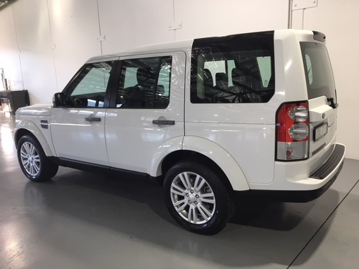 2014 LAND ROVER DISCOVERY SDV6 SE Series 4 White