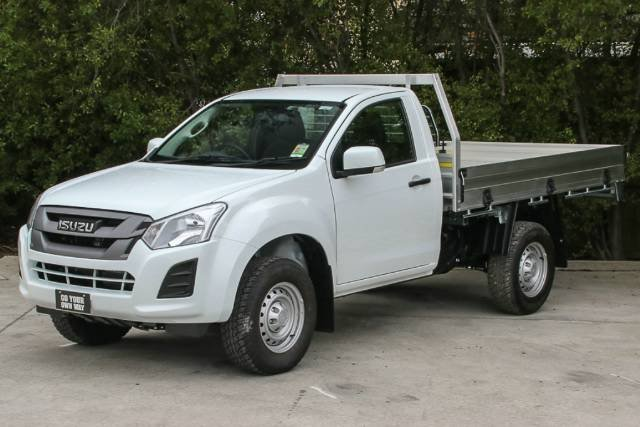 2018 ISUZU D-MAX 4x2 SX HIGH RIDE SIN MY18 SPLASH WHITE