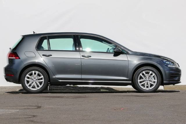 2018 VOLKSWAGEN GOLF 110TSI 7.5 MY18 INDIUM GREY