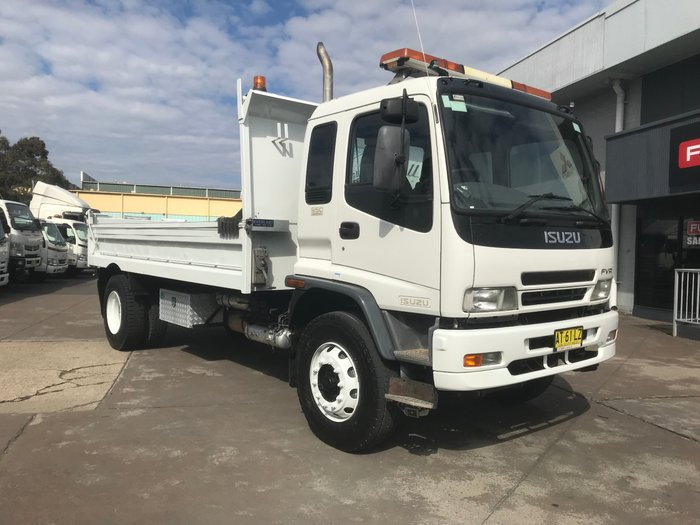 2007 Isuzu FVR950 FVR950 STEEL TIPPER WHITE