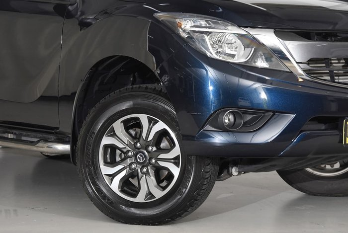 2015 MAZDA BT-50 GT UR Blue