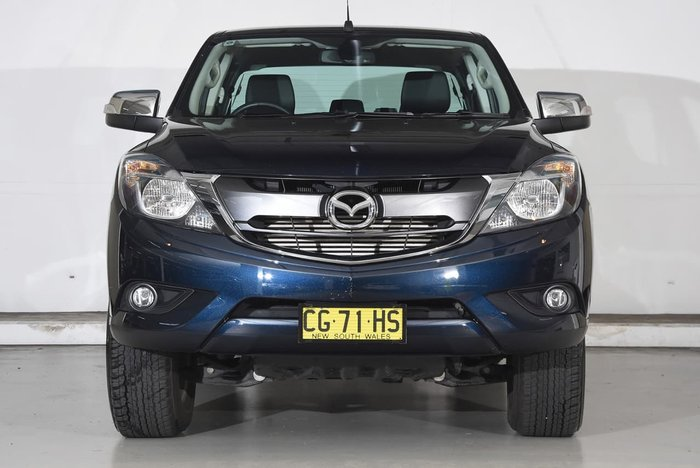 2015 MAZDA BT-50 GT UR Black