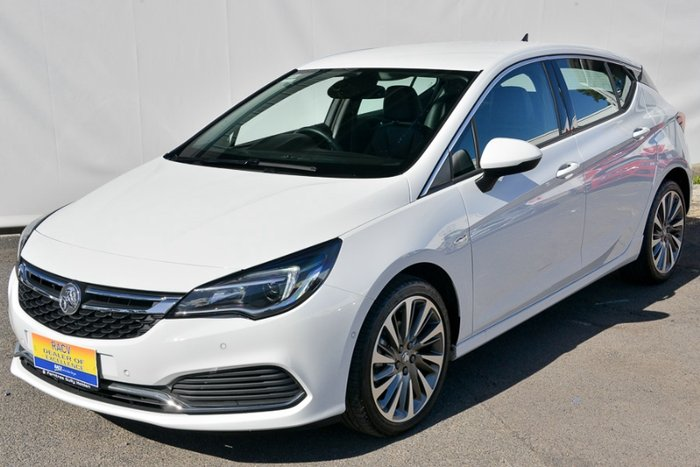 2017 HOLDEN ASTRA RS-V BK MY17 SUMMIT WHITE