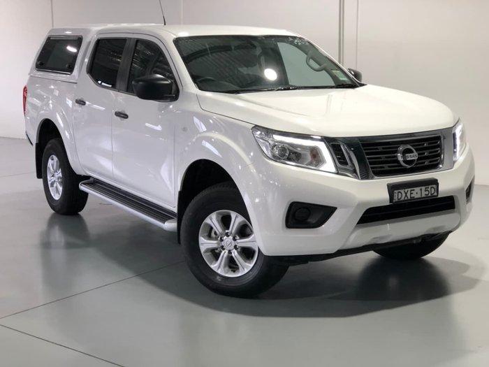 2018 Nissan Navara SL D23 Series 3 4X4 Dual Range White