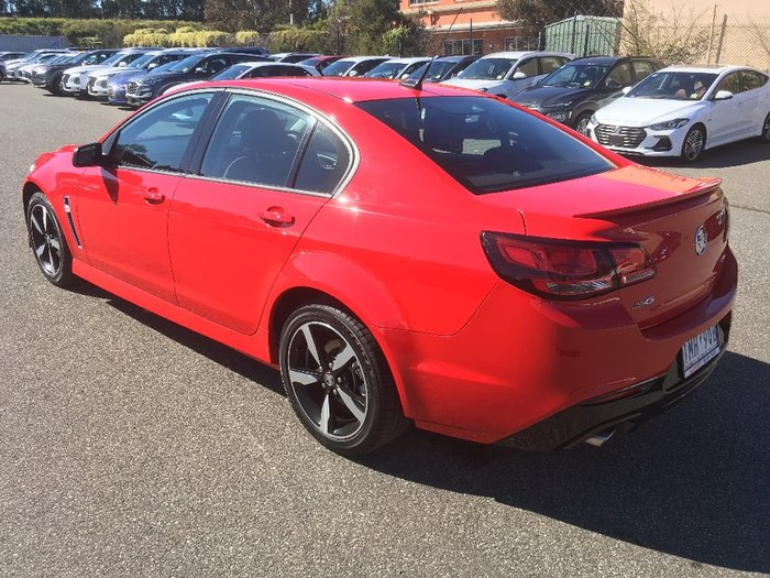 2017 HOLDEN COMMODORE SV6 VF Series II Red