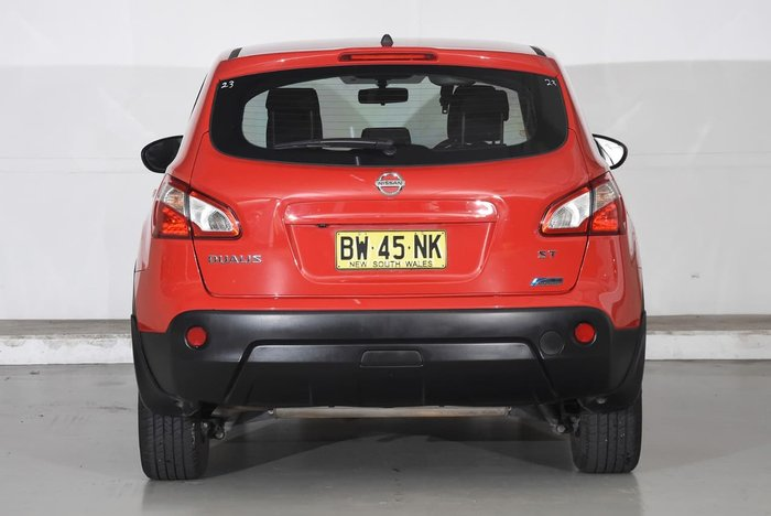 2013 NISSAN DUALIS ST J10 Series 4 Red