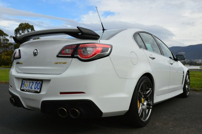 2015 HOLDEN SPECIAL VEHICLES GTS GEN-F MY15 WHITE