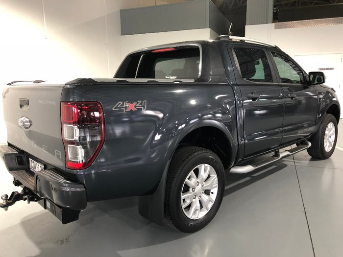 2013 FORD RANGER Wildtrak PX Grey